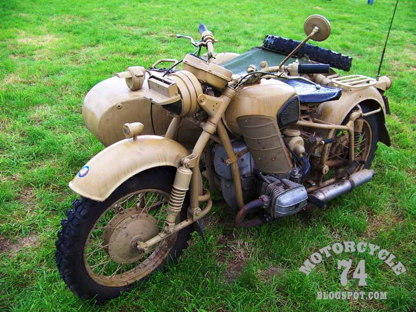 MOTORCYCLE 74: Euro trike meeting - Halen Belgium 2011