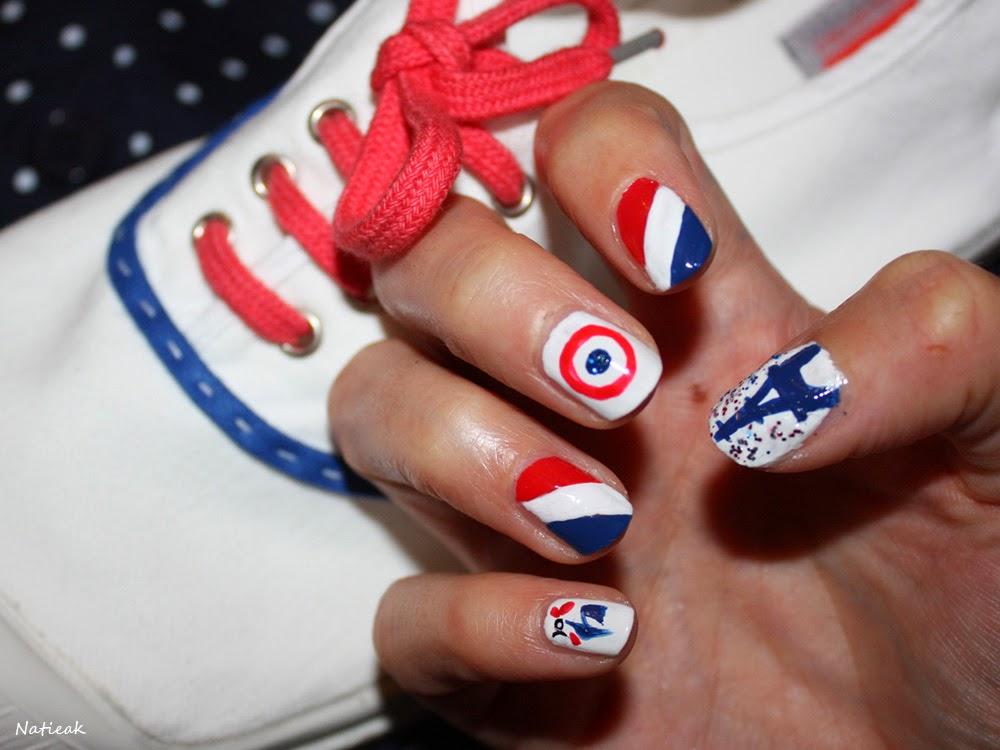Mon nail art  bal populaire