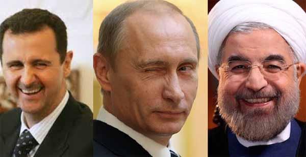 Biadab, Presiden Iran Malah Beri Ucapan Selamat Pada Bashar Asad Atas Pembantaian Muslimin Di Aleppo!!!