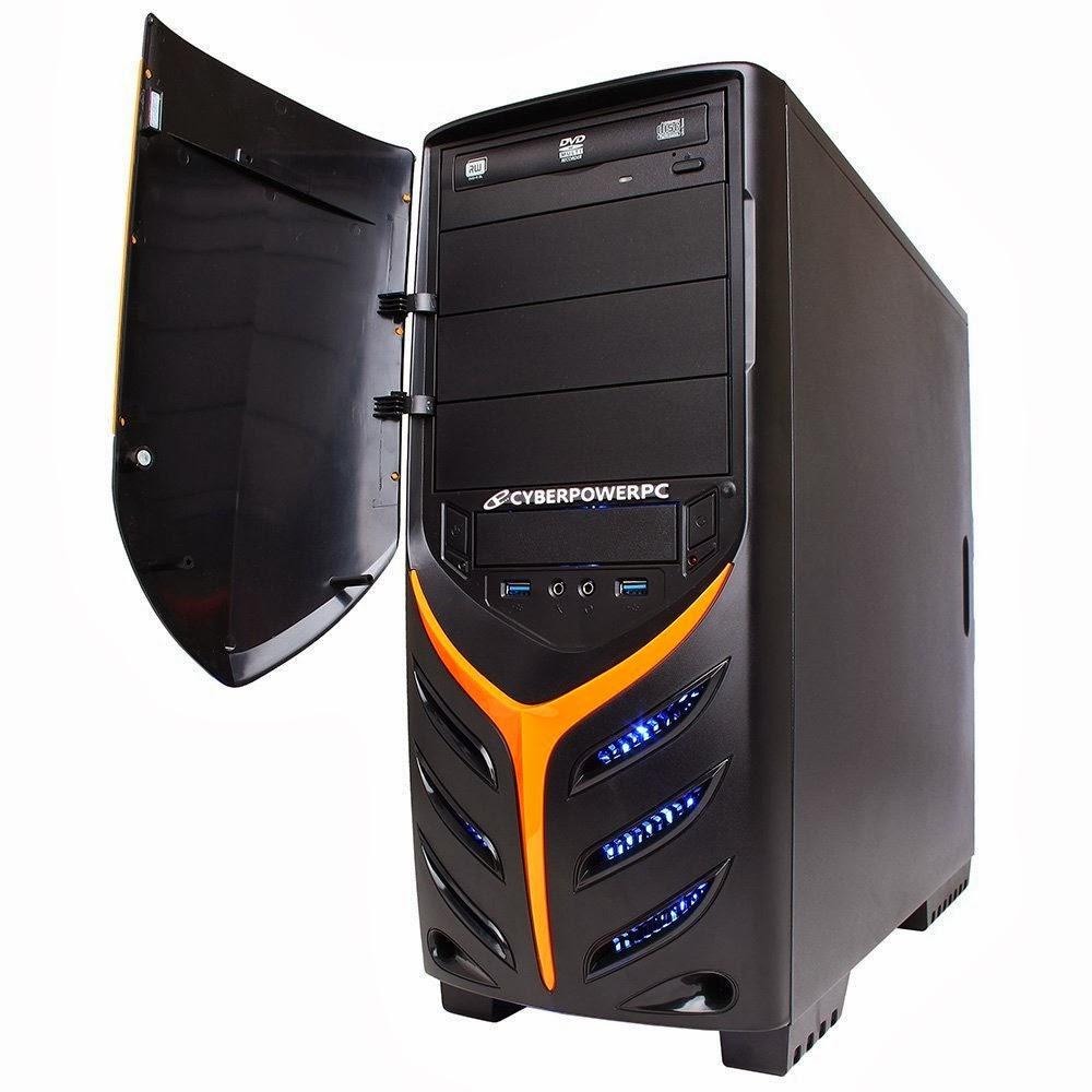 Top CyberpowerPC Gamer Ultra GUA890 Desktop (Black/Blue