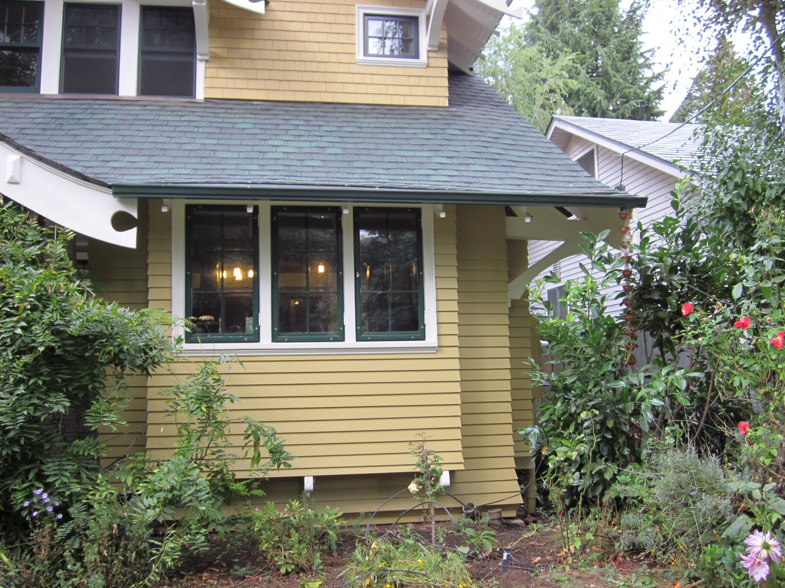 Laurelhurst Craftsman Bungalow Gutters Installed