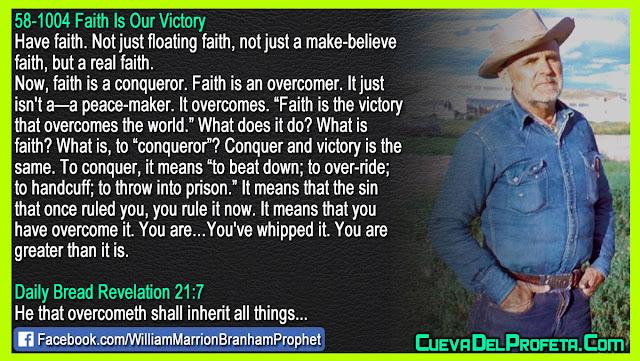 What is faith - William Branham Quotes