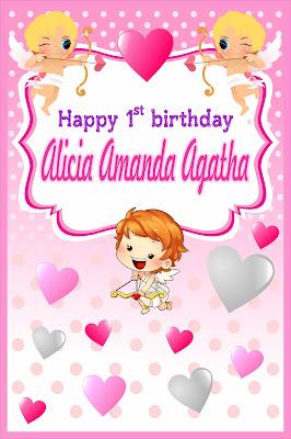 tema ulang tahun little cupid