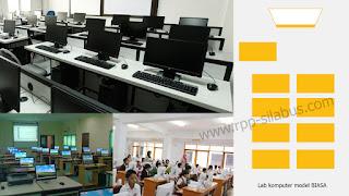 Lab Komputer di Sekolah model biasa