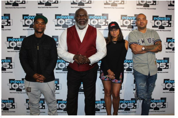 Bishop T D  Jakes Powerful Interview On The Breakfast Club, Wisdom