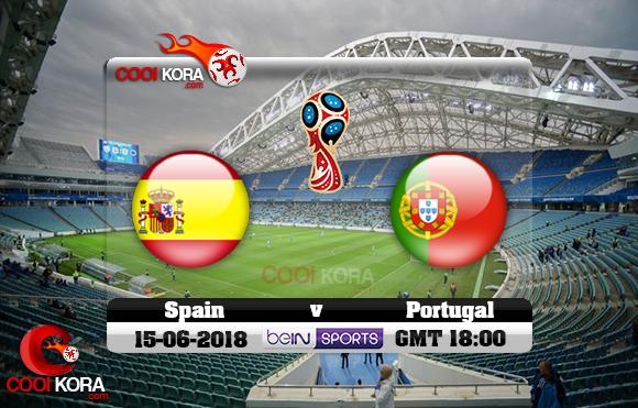 مشاهدة مباراة البرتغال وأسبانيا اليوم 15-6-2018 بي أن ماكس كأس العالم 2018