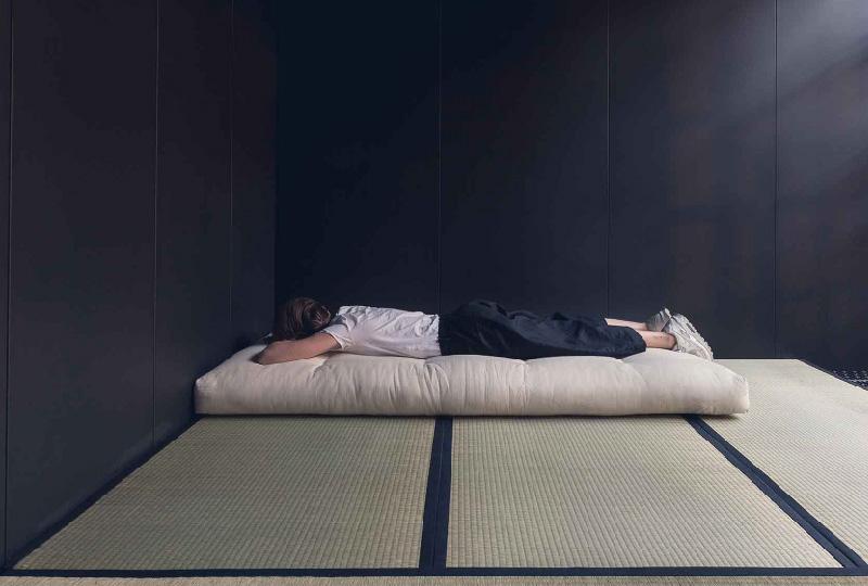 Letti Bassi Giapponesi : Letto basso stile giapponese. fabulous arredamento in stile