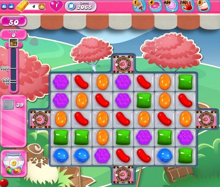 Candy Crush Saga level 2065