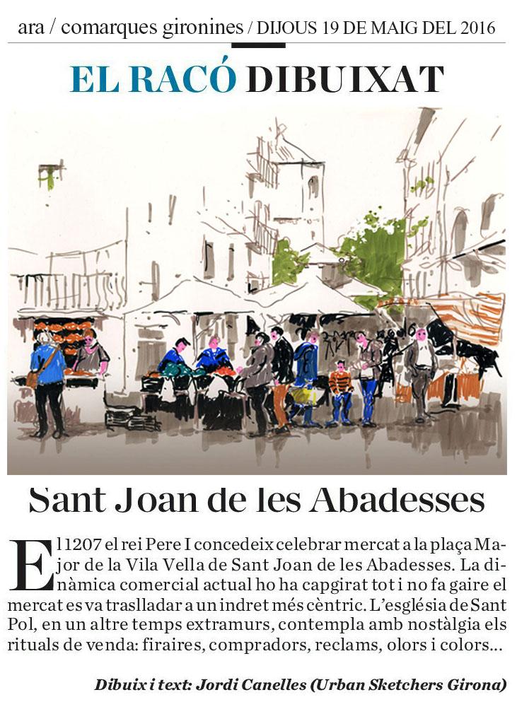 El mercat de sant joan de les abadesses - El mercat de les glories ...