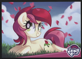 MLP A Rosey Disposition Series 4 Trading Card