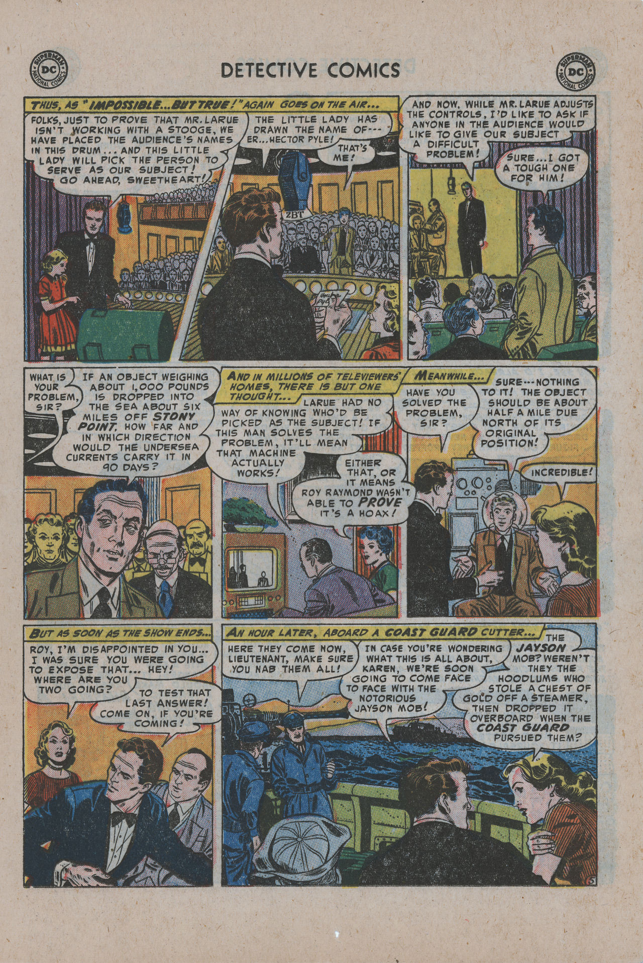 Read online Detective Comics (1937) comic -  Issue #200 - 22