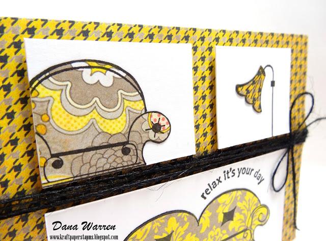 Dana Warren - Kraft Paper Stamps - Unity Stamps Company