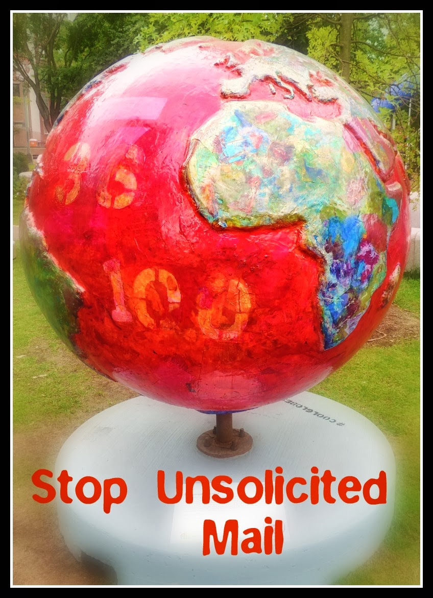 The Cool Globes en Boston: Stop Unsolicited Mail