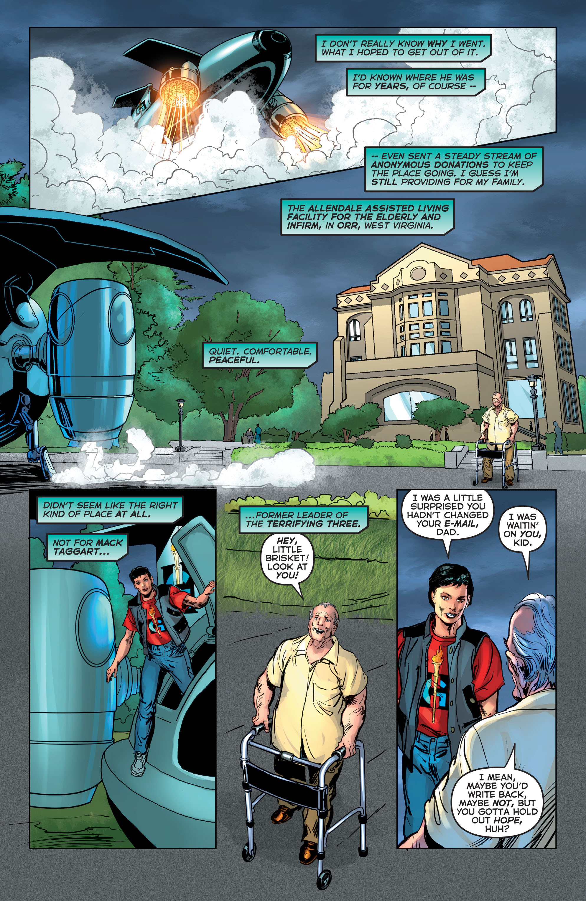 Read online Astro City comic -  Issue #21 - 17