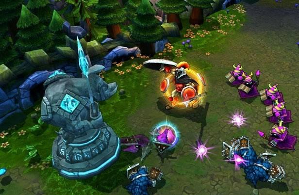 jogo League of Legends Brasil