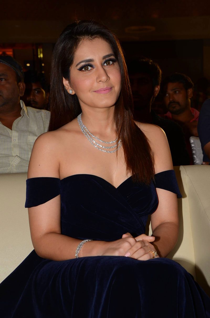 Actress Raashi Khanna at Jai Lava Kusa Audio Launch Photos