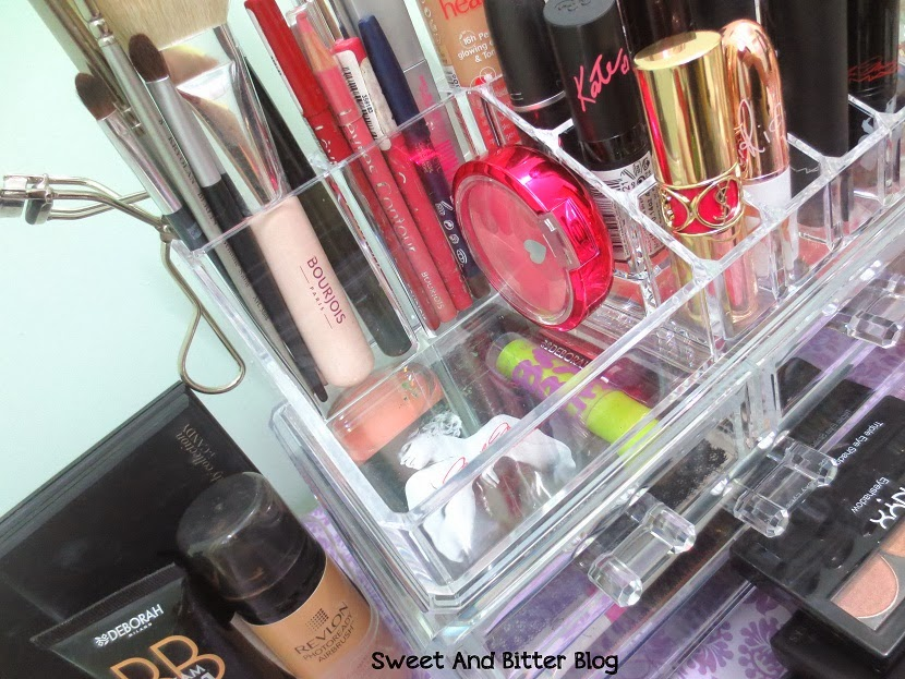 Stackable Makeup Display Organiser