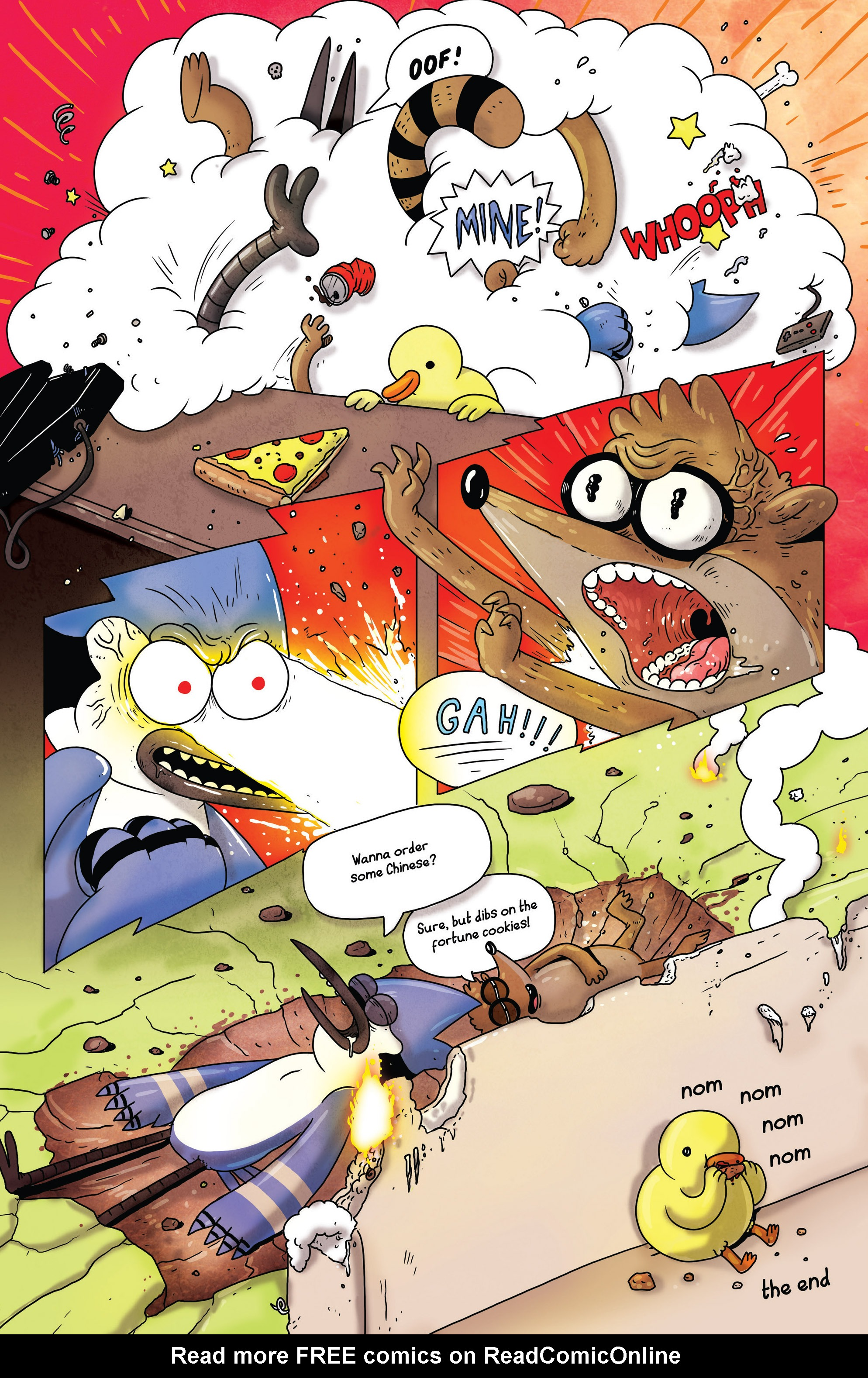 Read online Regular Show comic -  Issue # _2017 Special 1 - 36