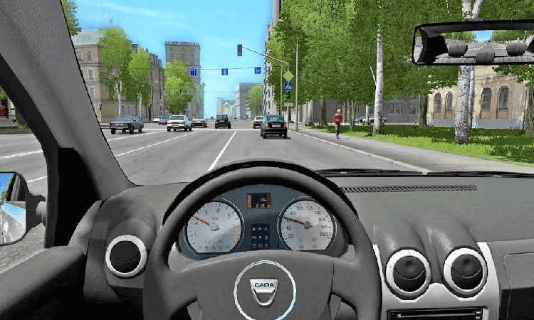 تحميل لعبة city car driving مجانا