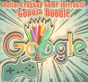 Daftar Lengkap Game Interaktif di Google Doodle (2010-2016) yang Bisa Dimainkan Hingga Kini