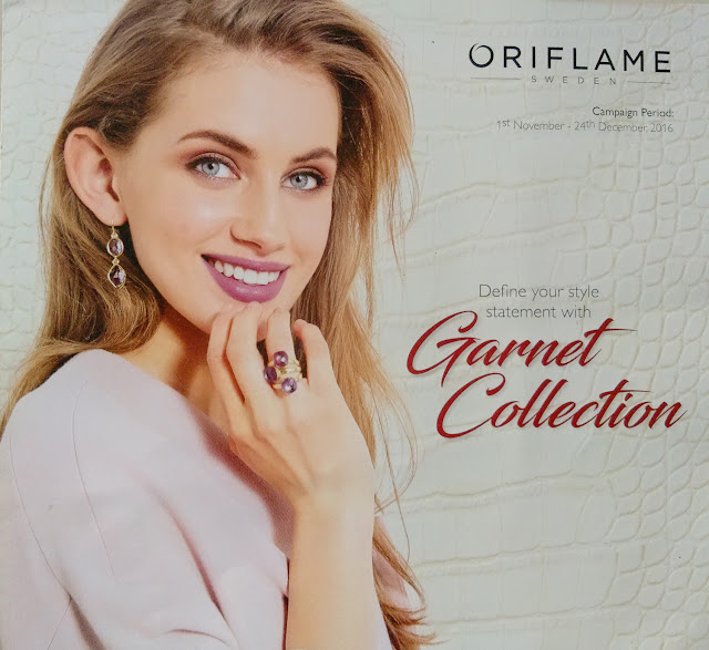 Oriflame Garnet Collection - Dec 2016