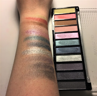 The Color Workshop Fashion Palace party palette swatches
