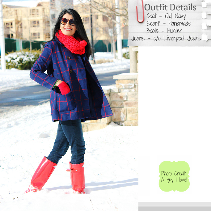 92518a8701376 Style-Delights  Lookbook   Plaid Pea Coat