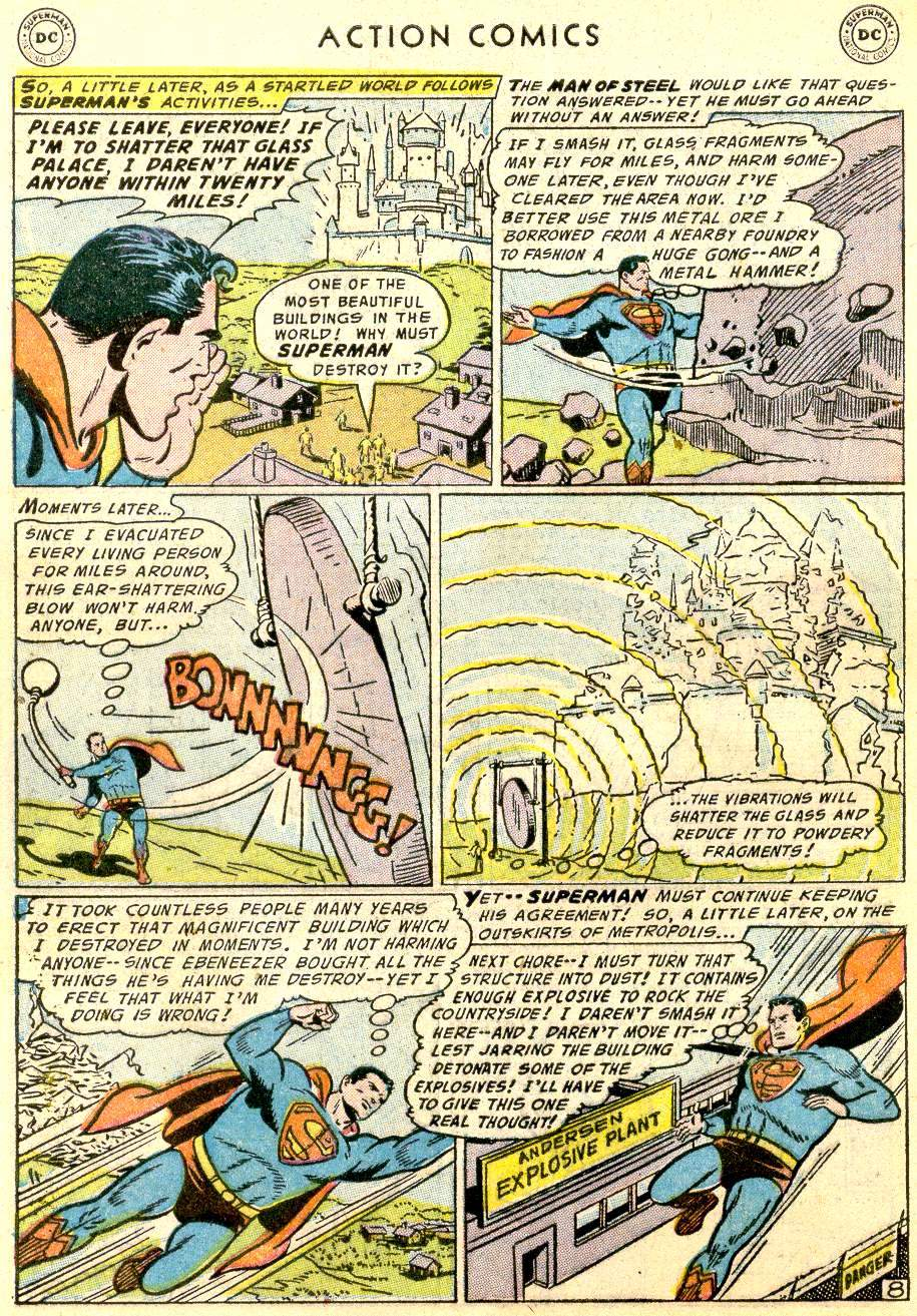 Action Comics (1938) 214 Page 9