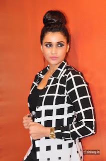 Mannara Chopra Stills at VR Pitara's Floral Flaunsica Launch Hyderabad