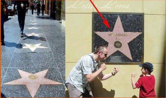 Hanya Nama Muhammad Ali Yang Diabadikan Di Dinding 'Walk Of Fame'. Ini Alasannya