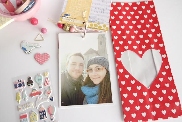 San Valentino 2017 | scrapbooking mini album dettagli9 www.kkushi.com