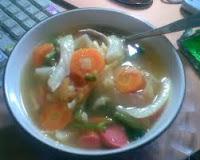 resep sayur sop sederhana