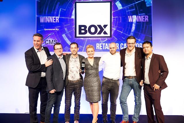 Birmingham-based Box named best in the land