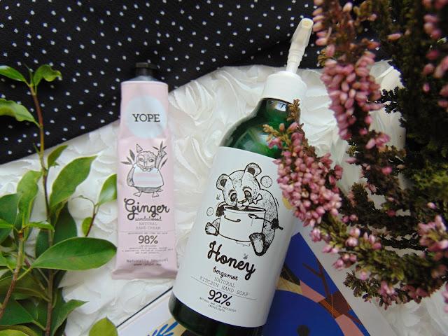 naturalne kosmetyki, Yope krem do rąk, mydło do rąk