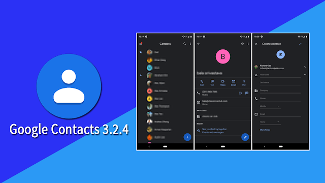Google Contacts Finally Got Dark Mode : APK To Download, For All Android 5+ Devices