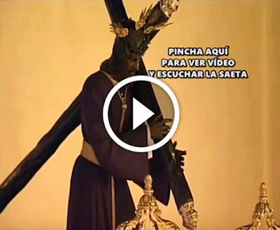 Video de la saeta cantada por camaron de la isla al cristo de los gitanos titular de la hermandad de los gitanos de sevilla con imagenes de su salida desde su santuario en la madruga de sevilla
