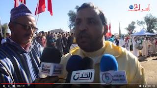 تارودانت24 تصريح عبد الله رحمة رئيس جماعة تافنكولت بخصوص إعطاء عامل الاإقليم انطلاقة اشغال عدة مشاريع بالمنطقة