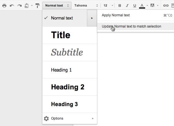 Google docs will improve paragraph styles and add more fonts for Fonts for google docs android