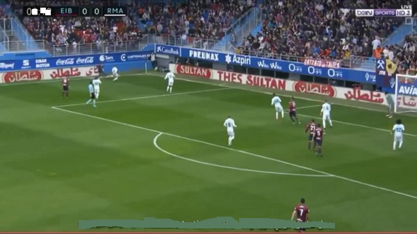Live : Real-Madrid vs Eibar match en direct