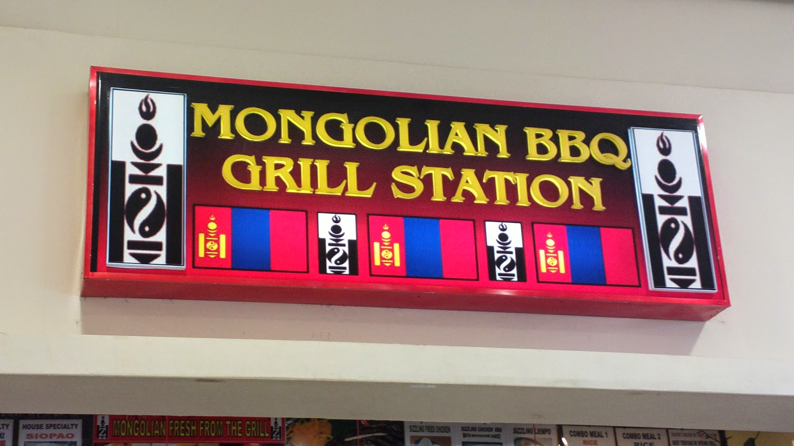 Mongolian BBQ Grill Station at Robinson's Place Pangasinan