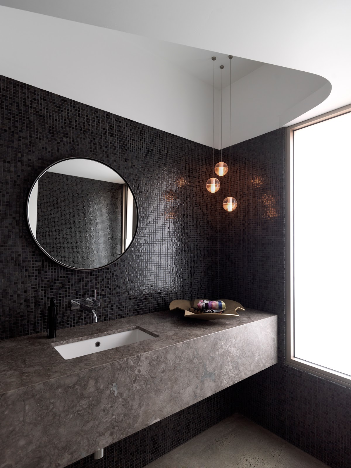 Bathroom Wall Mirrors Round
