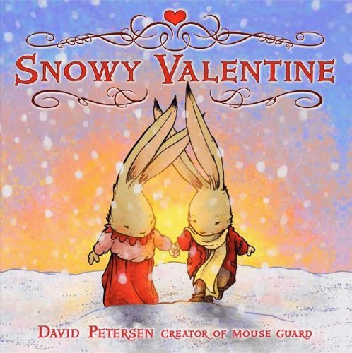 Snowy Valentine, part of children's book review list about Valentine's Day