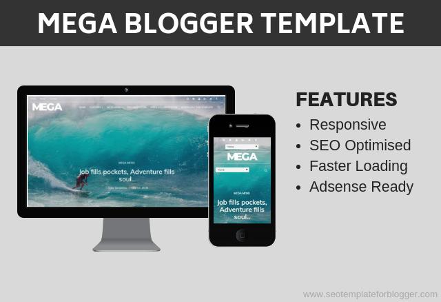 Mega Travel Blog Template