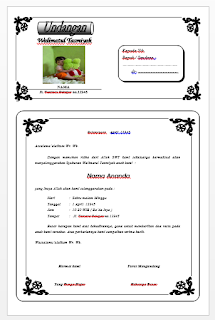 Download Undangan Aqiqah Word Model Bambu Gratis