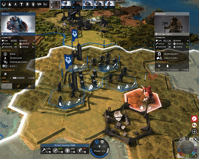 The Combat | Endless Legend Game Screenshot