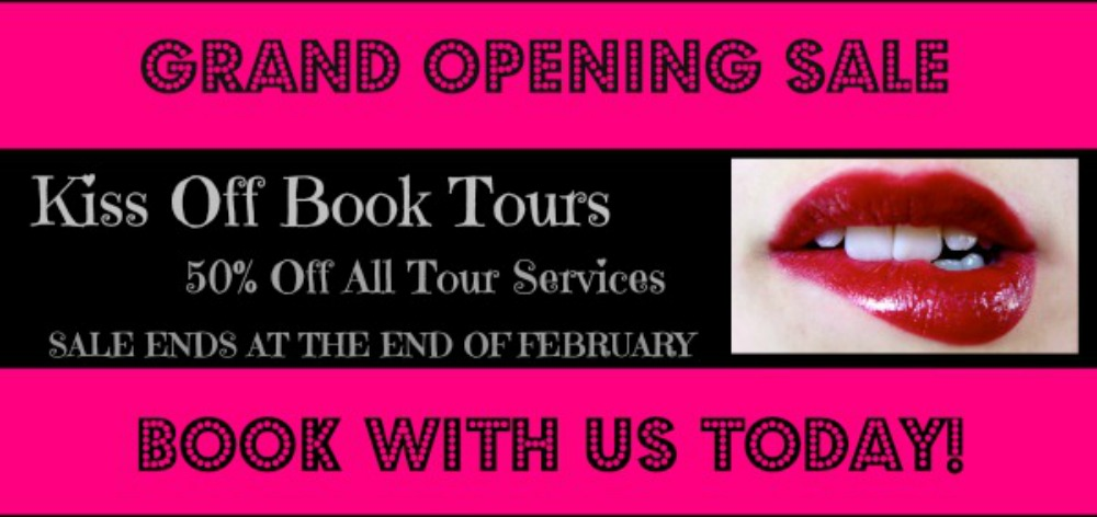 Kiss off, let a lady read Book Tours