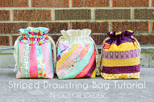 In Color Order  Lined Drawstring Bag Tutorial 0a8b62e15b7d