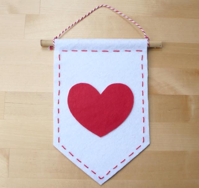 Banderín San Valentín