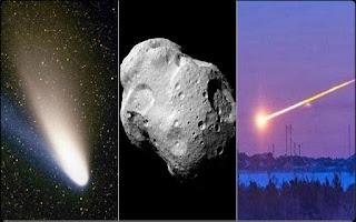 Ποια η διαφορά μεταξύ κομήτη, μετεωρίτη και αστεροειδή;
