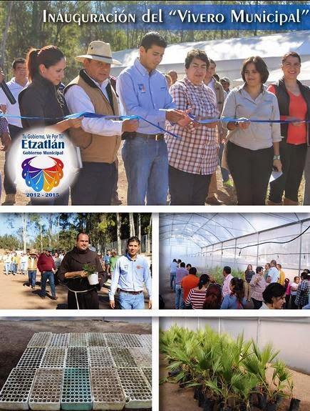 Blog de informaci n de etzatl n informaci n de las for Vivero municipal